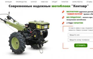 Кейс Яндекс Директ + Google Adwords: мотоблоки